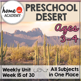 Desert - Weekly Unit for Preschool, PreK or Homeschool