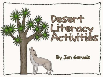 Desert Literacy Activities