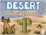Desert Literacy Centers: Six Daily Five Word Work and Writing Centers