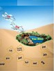 Desert Oasis Folder Game Phonics Short Vowel a