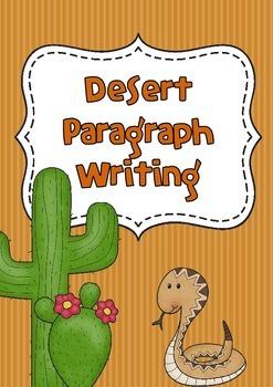 Desert Paragraph Writing