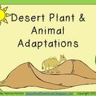 Desert Plant and Animal Adaptations Pack