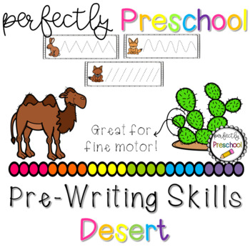 Desert Prewriting Skills {Dollar Deal}