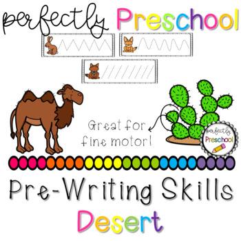 Desert Prewriting Skills