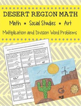 Math, Art, and Social Studies - Desert Region Math