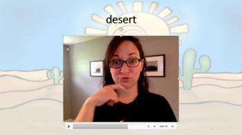 Combined Speech and Language: Desert