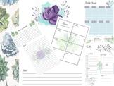 Desert Spring Printable Journal Notebook Daily To Do List