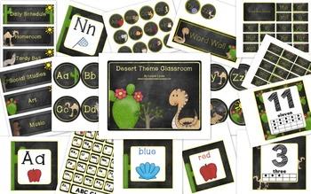 Desert Theme Classroom