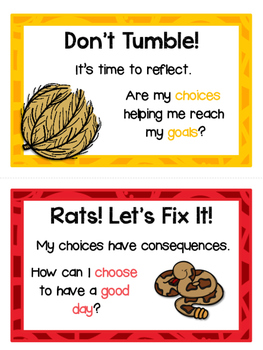 Desert Themed Classroom Behavior Clip Chart