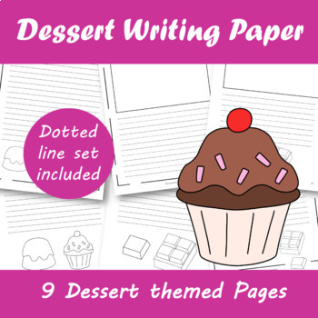 Desert Themed Writing Paper