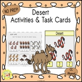 Desert Activities and Task Cards