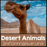 Desert Unit Nonfiction Informational Text Unit