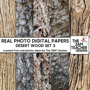 Desert Wood Set 3: No Credit Required Digital Photo Textures