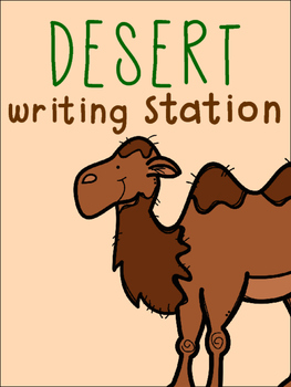 Desert Writing Station