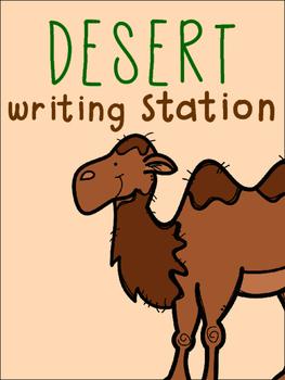 Desert Writing Station