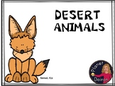 Desert animals reading passages, ELA, fact cards, word wall and vocabulary