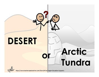 Desert or arctic biome sorting activity by wise dragon education desert or arctic biome sorting activity sciox Gallery