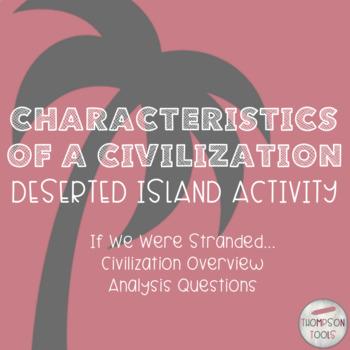 Characteristics Of A Civilization: Deserted Island Activity
