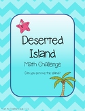 Deserted Island Math Challenge / Escape Room Style Game