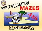 Deserted Island Multiplication Math Activity: Multiplication Maze
