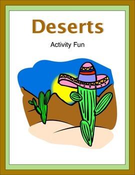 Deserts Activity Fun