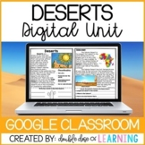 Deserts Biome Distance Learning GOOGLE Unit