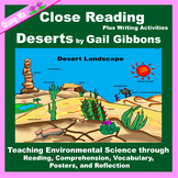 Close Reading: Deserts by Gail Gibbons