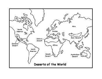 Deserts KWL Chart
