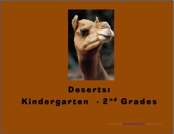 Deserts (Kindergarten - 2nd Grade)