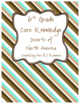 Deserts of North America (CK-World Deserts)