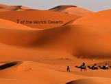 Deserts powerpoint