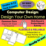 Tech Lesson - Design Your Own Home! {Technology Lesson Plan}