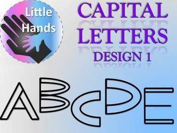 Capital Letters - Design 1