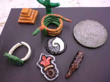 Design 8 Aztec Ceramic Miniatures