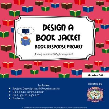 Design a Book Jacket Book Response Project
