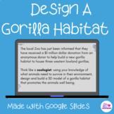 Design A Gorilla Habitat STEM Challenge