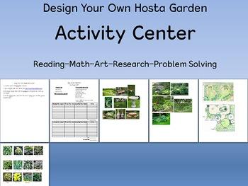 Design A Hosta Garden Reading/Math Extension Activity