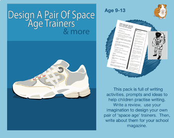Design A Pair Of Space Age Trainers (9-13 years)