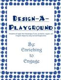 Design-A-Playground (Area, Perimeter, Regular, and Irregul