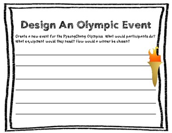 Design An Olympic Event