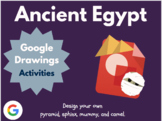 Design Ancient Egypt with Google Drawings!