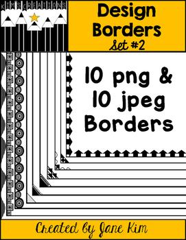 Design Borders Set 2