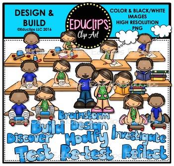 Design & Build Clip Art Bundle {Educlips Clipart}