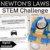 Design Challenge - Eggs-ellent Car Safety (MS-PS2-1 and MS-ETS1-1)
