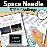 Design Challenge - Space Needle (NGSS MS-ETS1-1 and MS-ETS1-2)