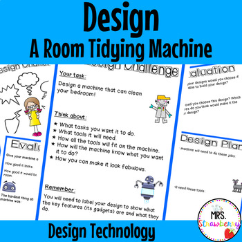 Technology Design - Design a Room Tidying Machine