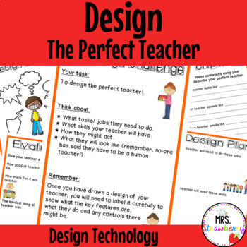 Technology Design - Design the Perfect Teacher