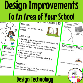 Technology Design {Design Improvements to an Area of Your School}