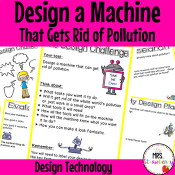 Technology Design {Design a Machine That Gets Rid of Pollution}
