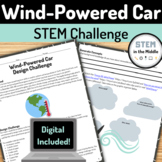 Design Challenge - Wind-Powered Cars (Engineering, NGSS MS-ETS1-1, MS-ETS1-2)
